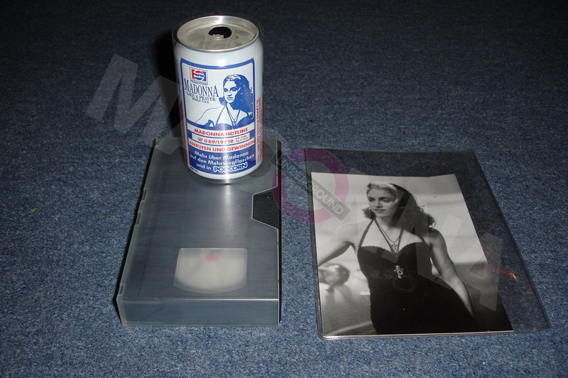 Pepsi video and can