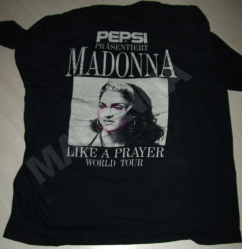 Pepsi T-shirt back