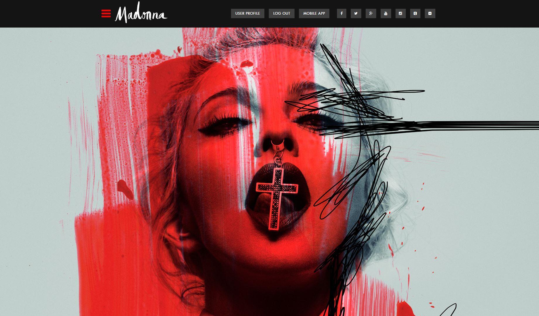 madonna website s rebel heart madonnaunderground