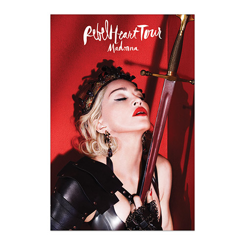 Official Rebel Heart Tour Poster Available