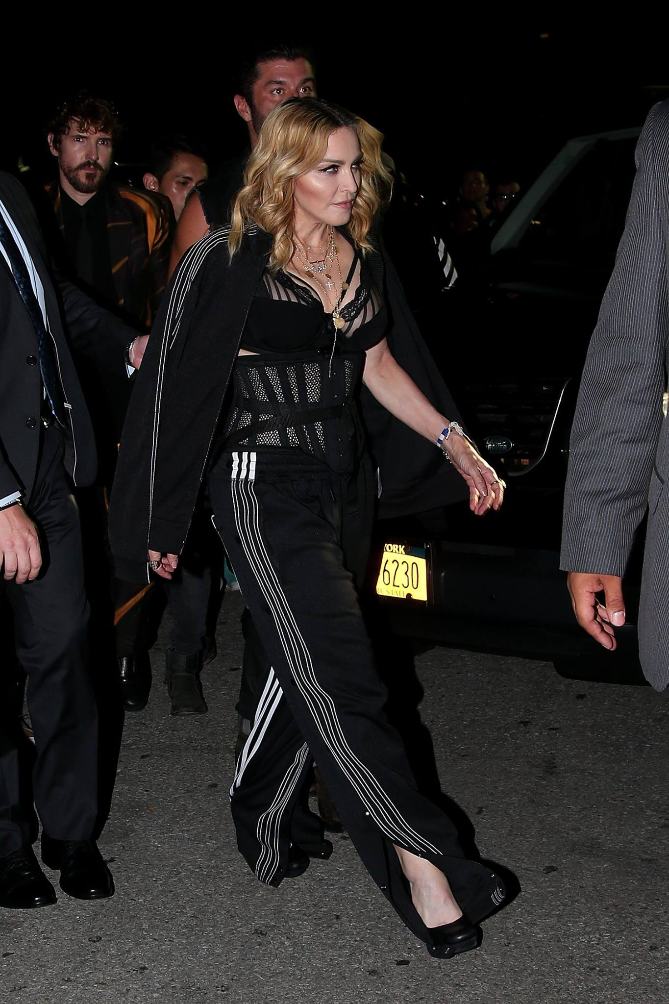 Madonna Attends The Alexander Wang Show Pictures Part 2