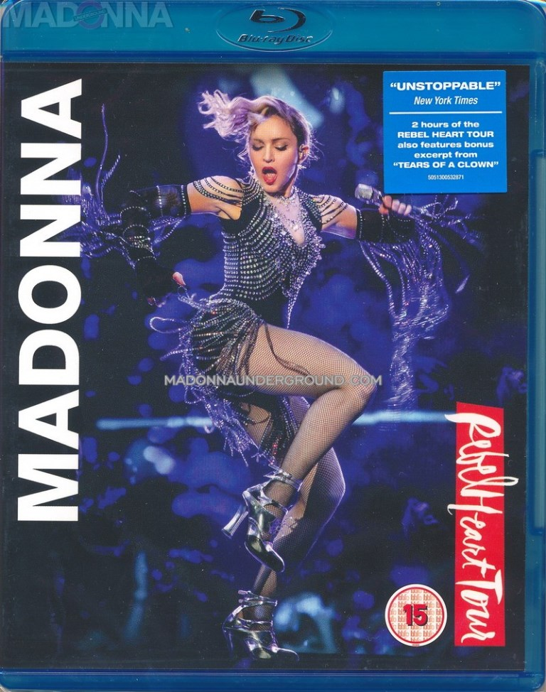 Madonna Rebel Heart Tour Dvd For Sale