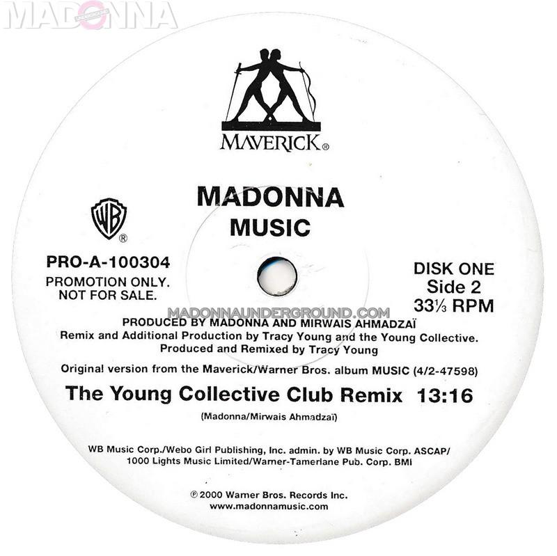 Music single (Vinyl) - Madonnaunderground