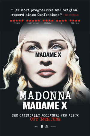 X Out Reviews >> The Sun Reviews Madame X It S Ultra Contemporary Packed With